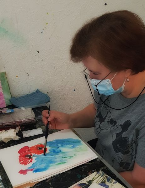 Aquarell - Workshop am 12.9.2020